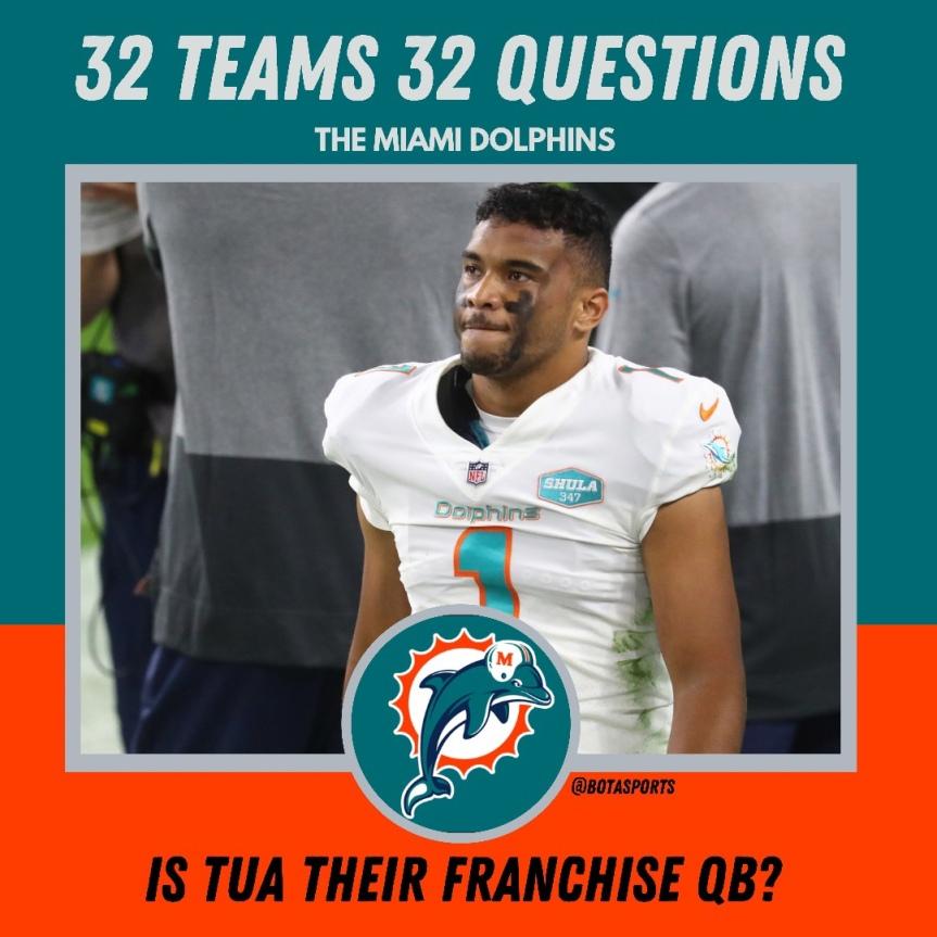 32 Teams 32 Questions: Is Tua the Franchise QB inMiami?