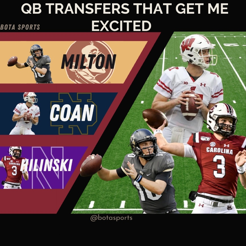 Three QB Transfers That Get meExcited